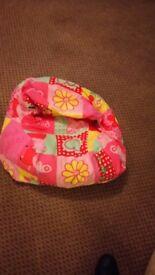 Bean bag Peppa pig