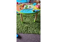 Childrens activity table