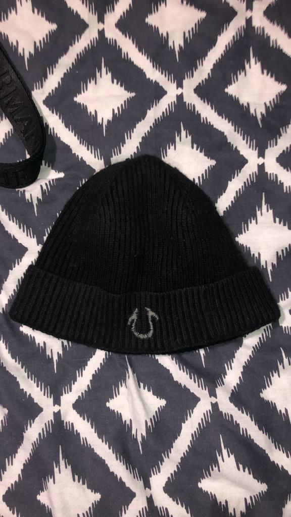01ac746a582bc 100% genuine true religion beanie hat not gucci armani boss