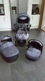 Venicci 3 in 1 pram for sale