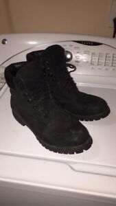 Men's Black Timberland Boots size 10