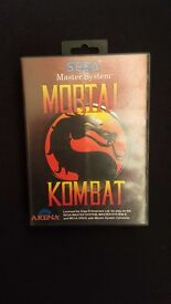 Mortal Kombat Game for Sega Master System