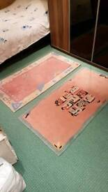 Lovely Small Rugs in fantastic condition 1.5m x 0.5m