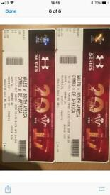 2x wales vsouth Africa tickets