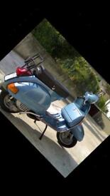 Vespa projects wanted metal bodied