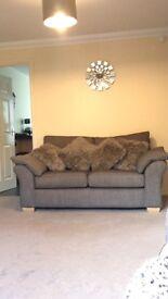X4 grey cushions