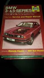 Haynes Manual - BMW 3 and 5 Series E30 E28 E34
