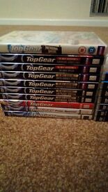 VERY large collection of TOP GEAR dvds CHEAP