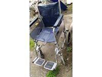 Foldable wheelchair £30 ono