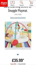 Early Learning Centre BF Snuggle Playmat.