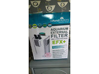 All Pond Solutions EFX+ External Filter + 9V UV clarifier brand NEW with guarantee