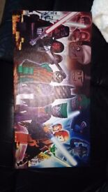 Lego Superhero wall picture