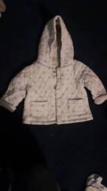 Baby star jacket 3-6 months NEXT