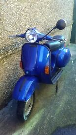 vespa mk1 p200 for restoration
