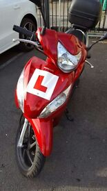 HONDA VISION 108CC MOPED IMMACULATE CONDITION FULLY LOADED BIKE GREAT RUNNER, LOW MILLEAGE ONLY 3500