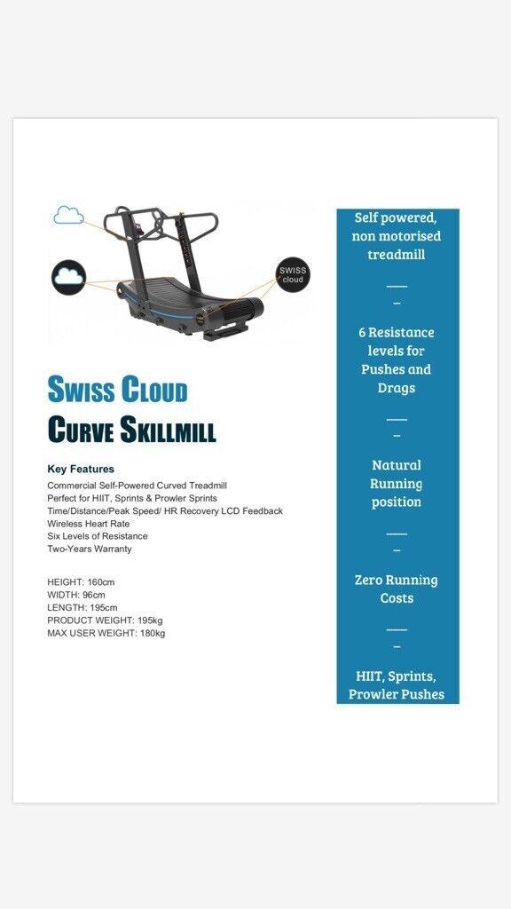 Curved Treadmill   in Portstewart, County Londonderry   Gumtree