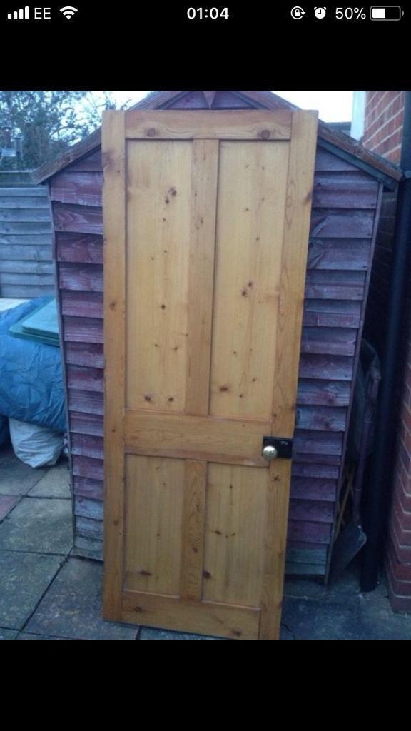 Striped Pine Internal Door 1970x705mm