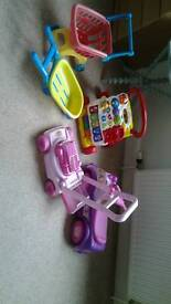 Selection of Childrens toys.