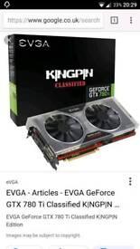 Nvidia gtx 780ti kingpin