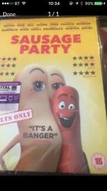 Sausage party DVD brand new unopened