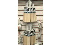 Cricket bat/Hockey Stick Acrylic Display for Slat Wall