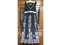 Mamas & Papas beautiful embellished maternity dress (size 14)