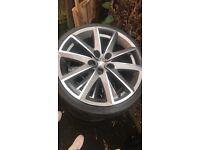 18 inch alloy wheels