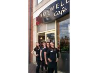 Weekend Cafe Team Members (16 years +) required in Boswells Cafe, Didcot