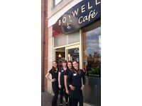 Full & Part time (including weekends) Cafe Team Members required in Boswells Cafe, Didcot