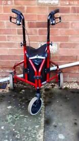 Tri walker walking aid