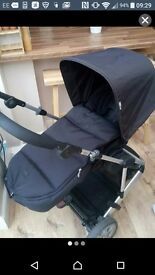 Mama and papa zoom pushchair with carrycot only 3 month old and brand new extra warm cosy toes