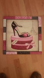 Shoes picture frame