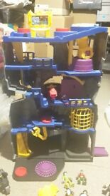 Imaginext Fisher Price Large Bat Cave !