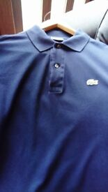 Lacoste Navy Polo Shirt Size 4 £15