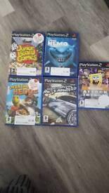 5 PlayStation 2 games ps2