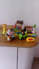 Bundle of babies toys