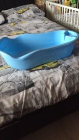 Baby steriliser changing mat and a baby bath