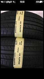 85/55/15 82V EVERGREEN EH23 Pair Of 2 Tyres