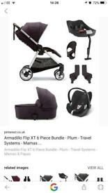 Mamas and papas armadillo travel system 7 month old