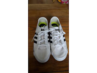 Adidas white trainers size 5