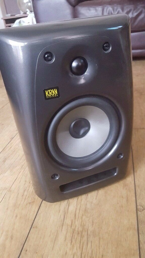 2x KRK Rocket 6 in Ferrari Grey Studio Monitors
