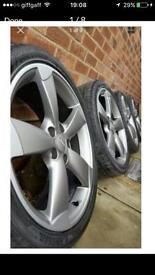 Audi rotor alloys