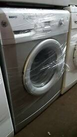 SILVER BEKO 7KG 1600 SPIN WASHING MACHINE WITH 6 MONTHS GUARANTEE