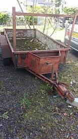 8x4 builders trailer