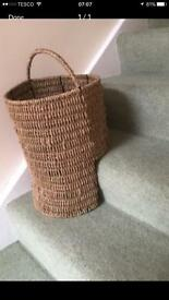 Staircase Wicker Basket