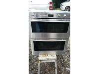 NEFF DOUBLE ELECTRIC OVEN- STAINLESS STEEL RRP £850.00