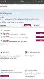 2 return flights 2 Montego Bay urgent