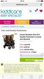 Hauck Roadster Duo SLX Double Pushchair