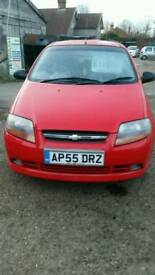 Chevrolet Kalos 1.4 petrol manual to be sold with full mot