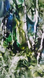 "Margaret M. Allton ORIGINAL OIL TITLE ""FOREST"""